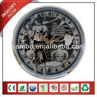 Japanese Cartoon Face Business Gift Wall Clocks