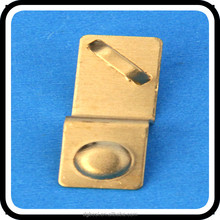 Custom stamping process aa battery contacts plate