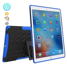TPU new design rugged cover 8 color shockproof cover case for ipad pro 9.7