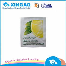 OEM customized single wet wipes individual packed wipes