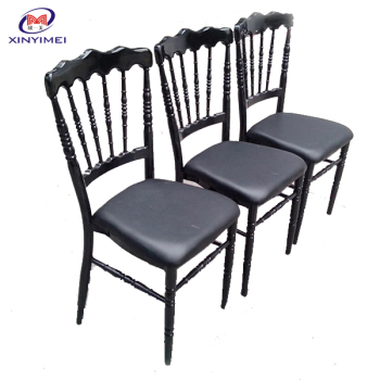 2017 Hot sale china durable fancy chairs with fixed cushion