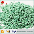 1-5 MM Recycled Colorful Running Track Material Rubber Granules For Artificial Grass