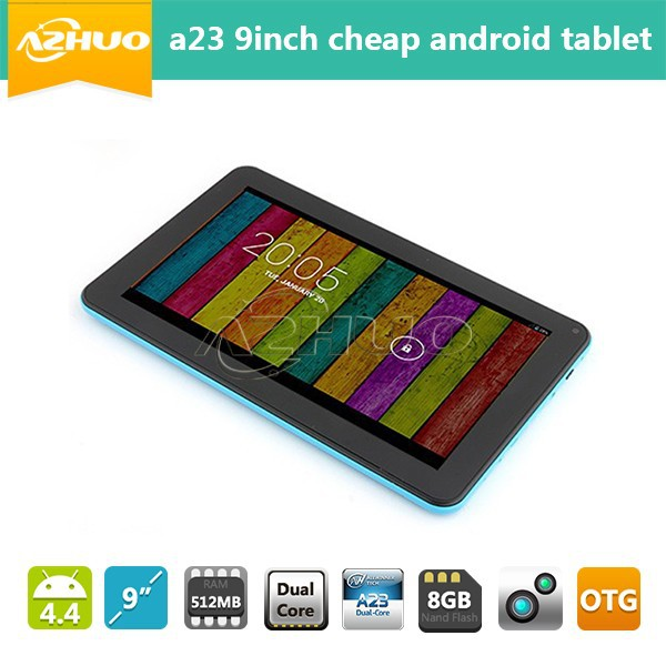 Best selling products 2014 allwinner a23 9inch cheap android tablet