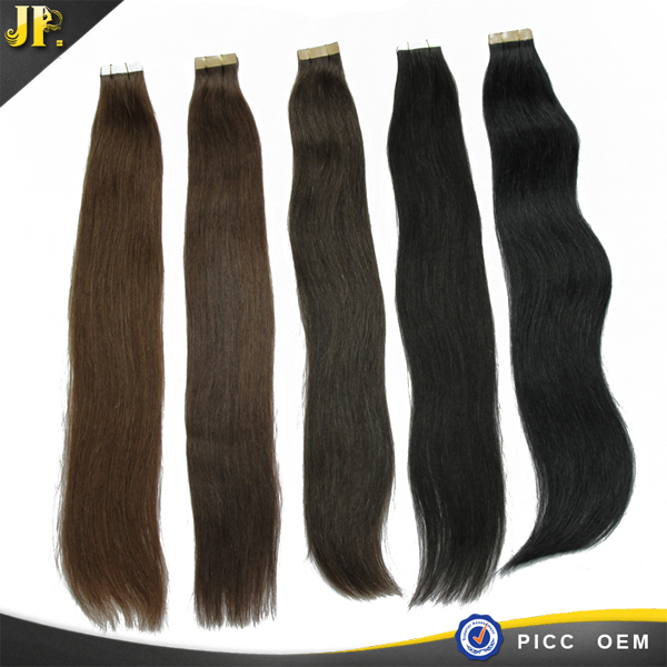 Super good quality all colors for perfect lady wavy tape hair extension
