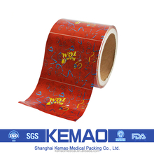 Red Colored Aluminum Foil For Food /Chocolate Wrappers