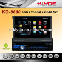 China factory unique design android 1 din car dvd gps in car dvd player