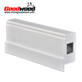 Pvc Reinforced Shutter Components---Stile With Aluminum