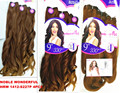 "Rebecca noble WONDERFUL original brand HRW 1412-S227P 4PCS IN ONE 18""200gr noble gold weaving hair"