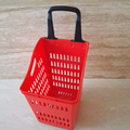 Large size 70litre Vegetables shopping basket with duarable handle and wheels