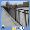 Wholesale 2-Rail and 3 Rail flat top powder coated aluminum fence panel / pool fencing