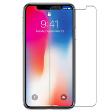 New Arrival 9H Premium Real Tempered Glass Protective Film Screen Protector For Apple iPhone X