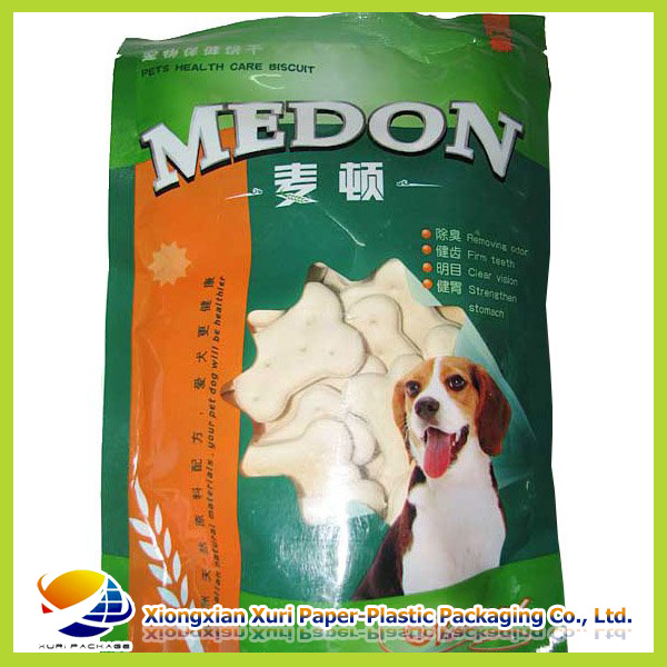 High quality pet food packaging plastic bags 1 kg china manufacturer