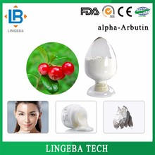 100% Natural Cosmetic Ingredient Whitening Agent Alpha-Arbutin