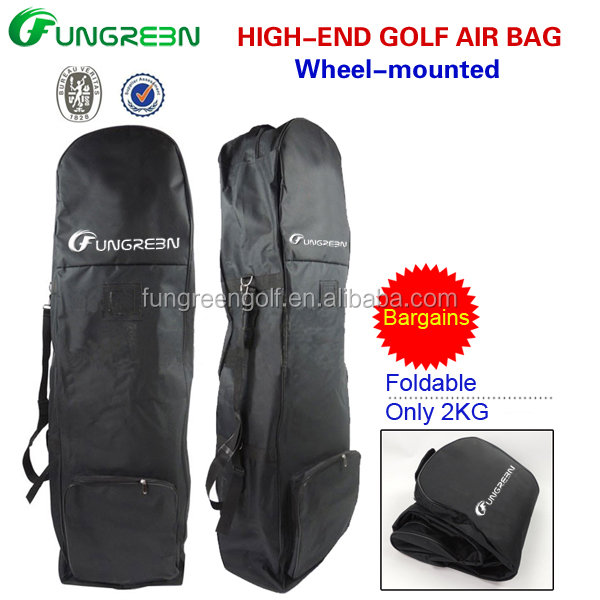 Nylon Golf bag travel cover in golf bag cover with customized logo