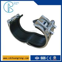 Easy pvc pipe repair clamps
