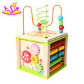 New hottest funny small world wooden activity toy for a children nursery W11B179
