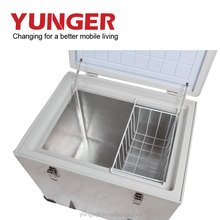 Outdoor Portable Car fridge mini/refrigerators freezers mini/stainless steel refrigerator
