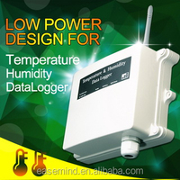 gprs Low Power Temperature Humidity Data Logger for environmental monitoring