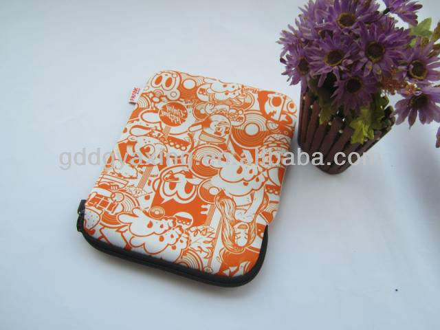 neoprene ipad laptop sleeve with full color printing