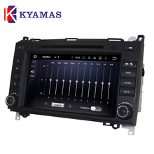 Auto Multimedia System Car Radio 8 Core Android 6.0 Car DVD Player for Ben/z B200(2004-2011)