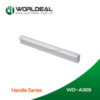 Aluminum door handy handle