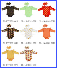 Baby Clothes Toddler Romper Many Patterns Long Cap Sleeve Winter Boutique Toddler Baby Clothes Romper