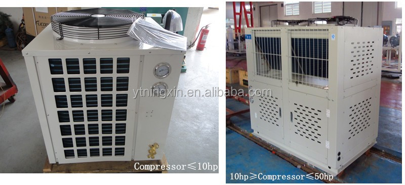 walk in cooler refrigeration unit,frozen cold room for meat and fish,cool room condenser and evaporators