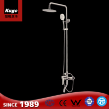 Modern design stainless steel top quality bathroom faucet hand shower