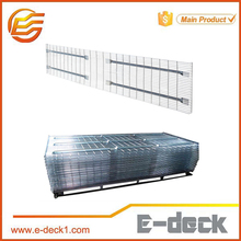 selective wire mesh panel storage wire mesh decking for pallet rack