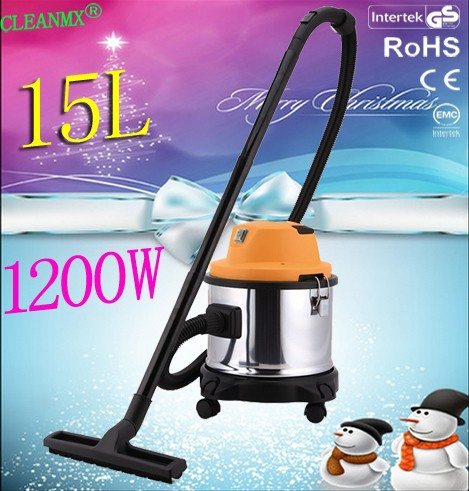 workshop washing car container cleaning wet and dry 15L vacuum cleaner