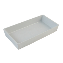 Airline rectangular plastic Ultem high temperature container for hot meal