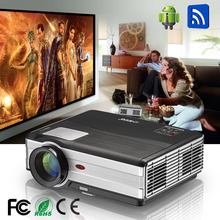 Wifi 3D Android 4.4.2 native 1280*800 support 1080P 3000 Lumens projector led