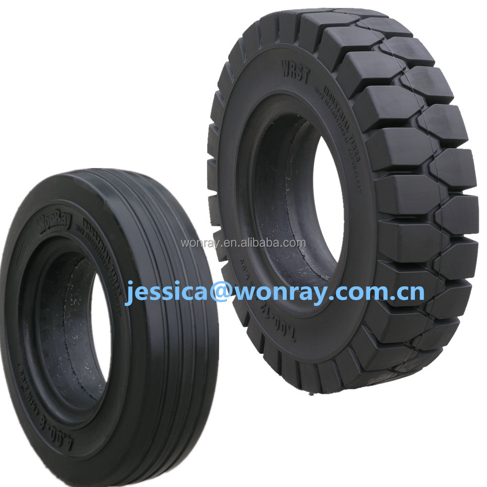 6 inch solid rubber tires for lawnmower 2.00-8 3.00-5 4.00-8 16x5-9 300x125