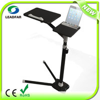Rolling Laptop Table Till table Tabletop Overbed Desk TV Food Tray Hospital PC