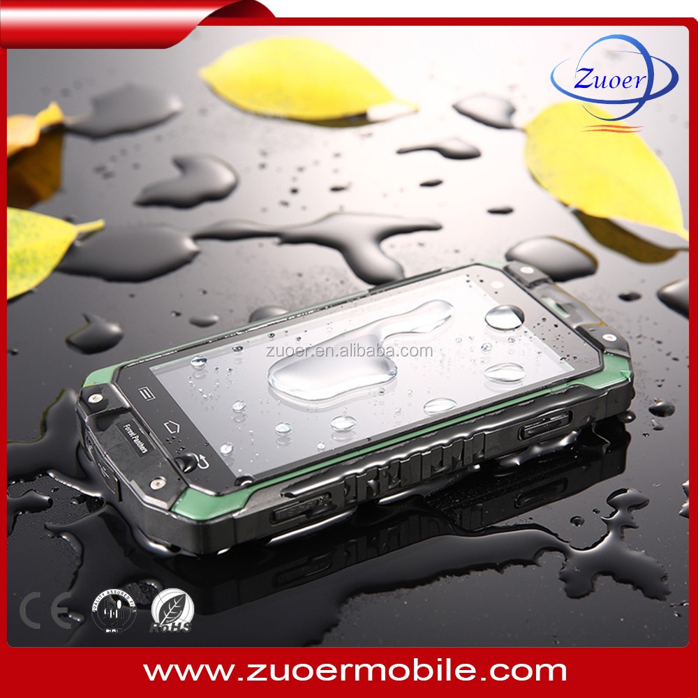 Bluetooth 2.1 Waterproof Shockproof Dust-proof phone , warterproof shockproof smartphone