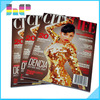 High quality OEM full color beautiful matte laminated and matte paper magazine printing