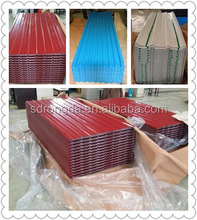Cheap And Fine Colored Corrugated Metal Roofing Sheet /colorful roof sheet