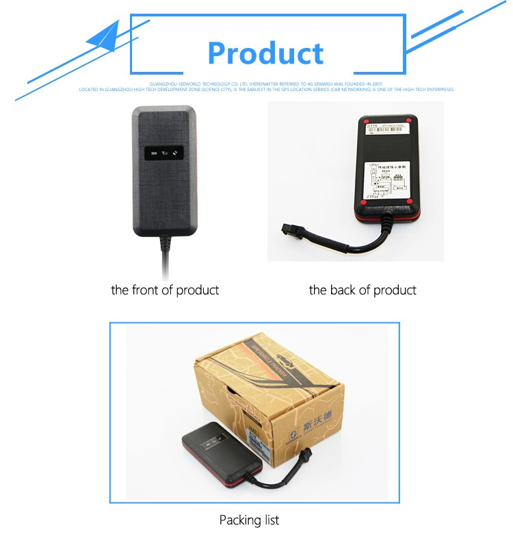 Mini Gps Tracker for car or vehicle waterproof tracking device track in Android or IOS APP and platform build in battery S116
