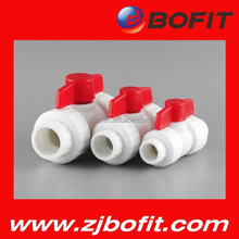 Bofit made pp-r ball valve in zhejiang