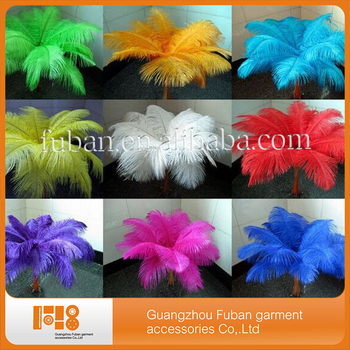 wholesale fashion natural ostrich feather for wedding and party decoration