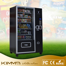 Robotic chocolate candy vending machine with LCD advertising screen