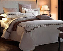 printed cotton bedding set for home use