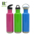 27oz BPA Free Survival Gear Bicycle Hiking Single Wall Stainless Steel Water Bottle With Different Lids