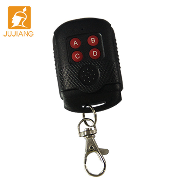Fixed code 315mhz 433.93mhz 4 Buttons Cheap Door Remote Control WITH CE JJ-CRC-SM06