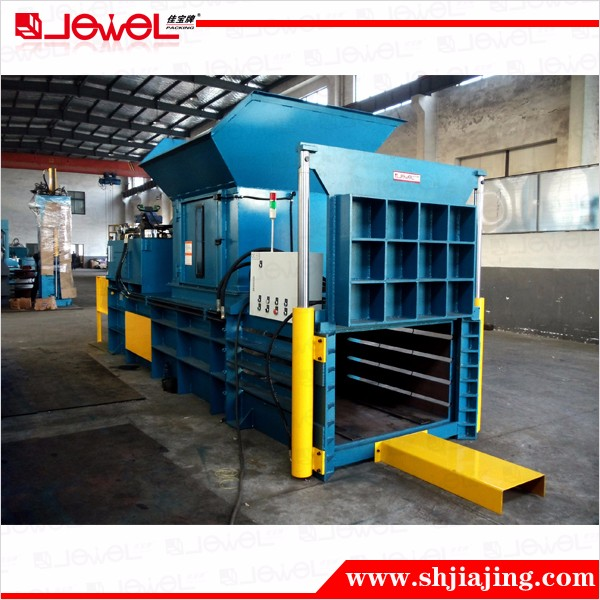 Horizontal Automatic Strapping Rope Twining Hydraulic Paper Carton Baling Machine