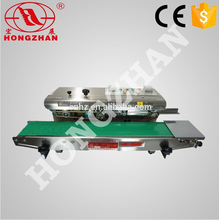 Hongzhan CBS/DBF series multi-purpose continuous brand sealing machine with date printer