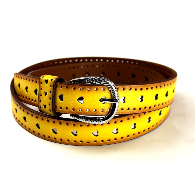 Handmade Band wholesale fashion decorative PU leather belt