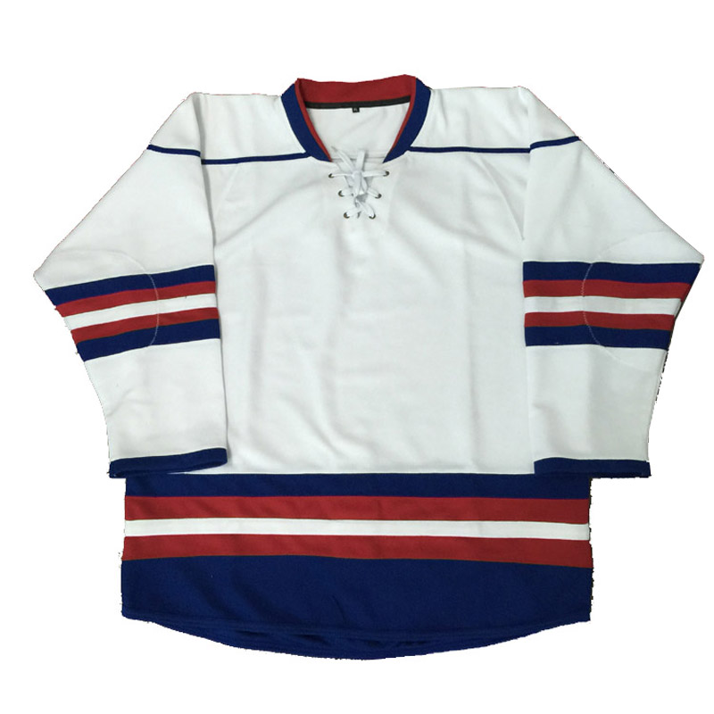 make your own design custom high quality blank ice hockey uniform