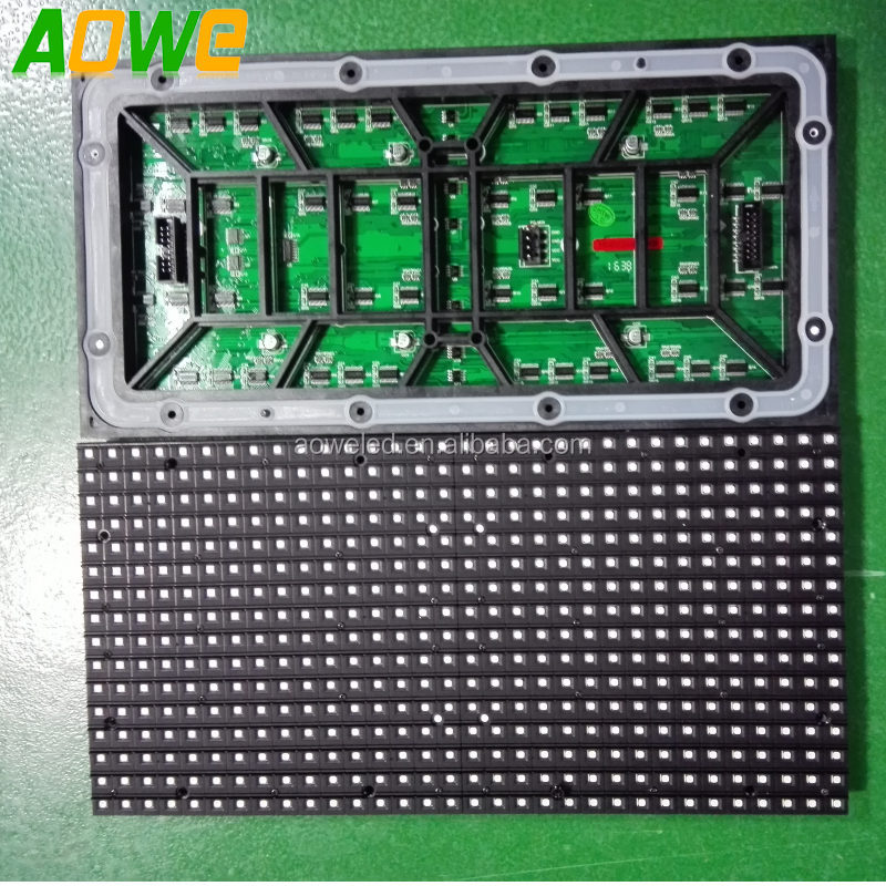 P10 High Definition Full RGB Color Outdoor SMD led display panel module for Adversting