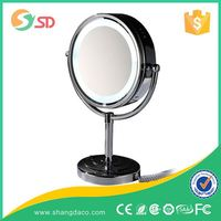 Wholesale high quality best prices hotel wall mounted cosmetic magnifying led mirror, cosmetic mirror
